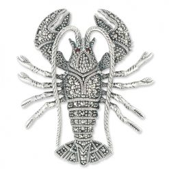 marcasite brooch HB0677 1