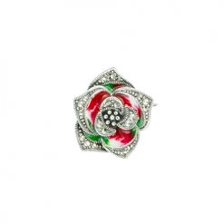 marcasite brooch HB0686 1 1