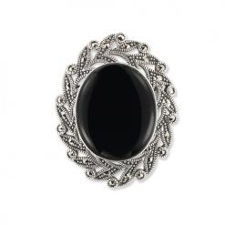 marcasite brooch HB0688 1