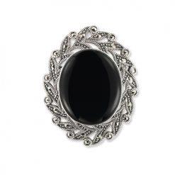 marcasite brooch HB0688 1