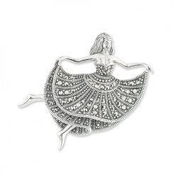 marcasite brooch HB0696 1
