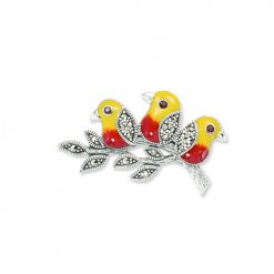 marcasite brooch HB0699 3 1