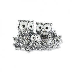 marcasite brooch HB0704 1 1