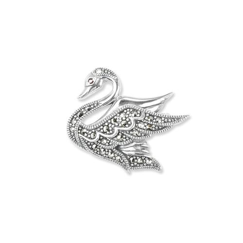 marcasite brooch HB0712 1
