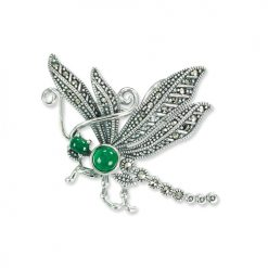 marcasite brooch HB0758 1