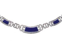 Marcasite necklace NE0046 1