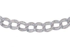 Marcasite necklace NE0080 1