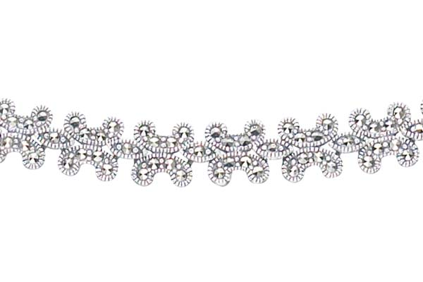 Marcasite necklace NE0087 1