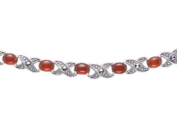 Marcasite necklace NE0149 1
