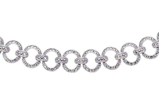 Marcasite necklace NE0152 1