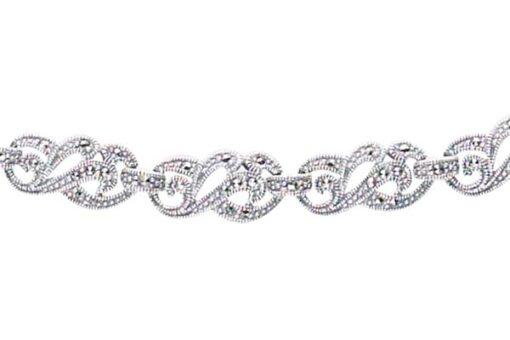 Marcasite necklace NE0178 1
