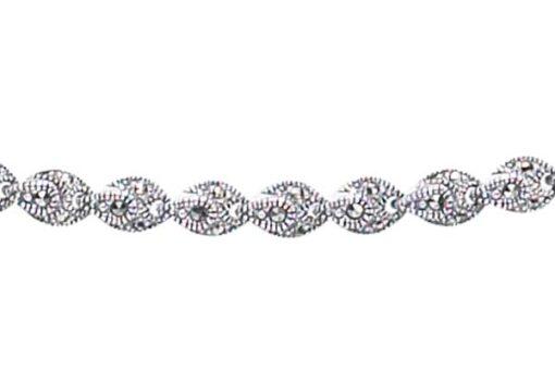 Marcasite necklace NE0189 1