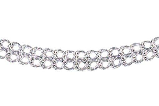 Marcasite necklace NE0199 1