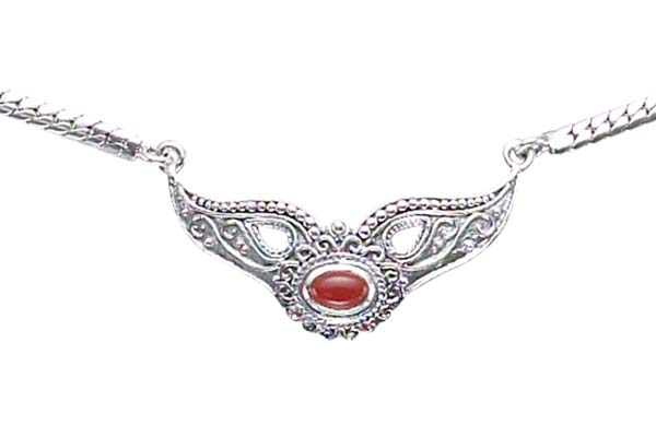 Marcasite necklace NE0203 1