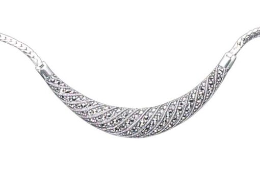 Marcasite necklace NE0247 1