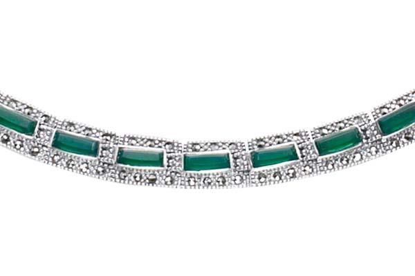Marcasite necklace NE0261 1