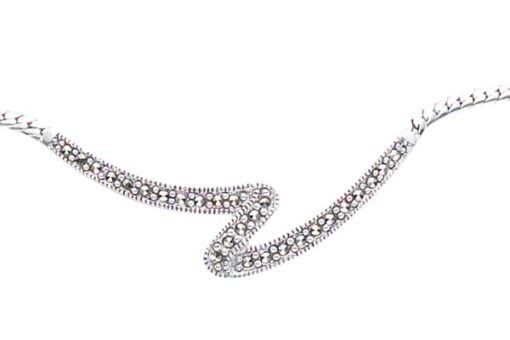 Marcasite necklace NE0302 1