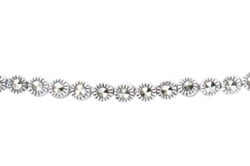 Marcasite necklace NE0334 1