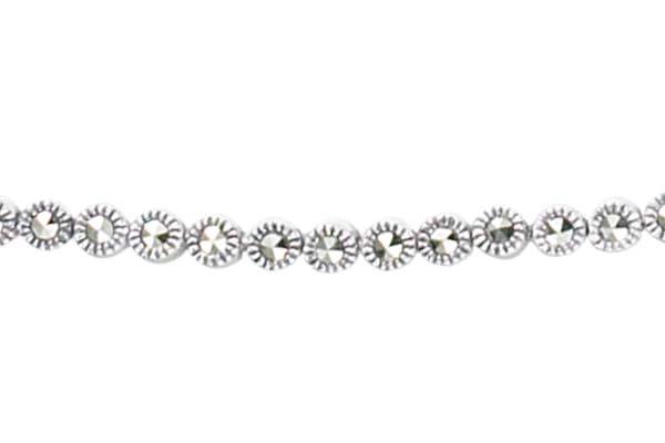 Marcasite necklace NE0334 1