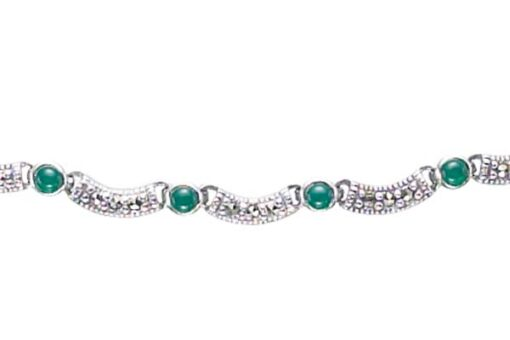 Marcasite necklace NE0344 1