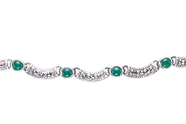 Marcasite necklace NE0344 1