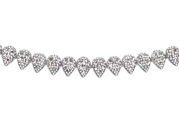Marcasite necklace NE0395 1