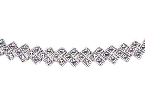 Marcasite necklace NE0399 1