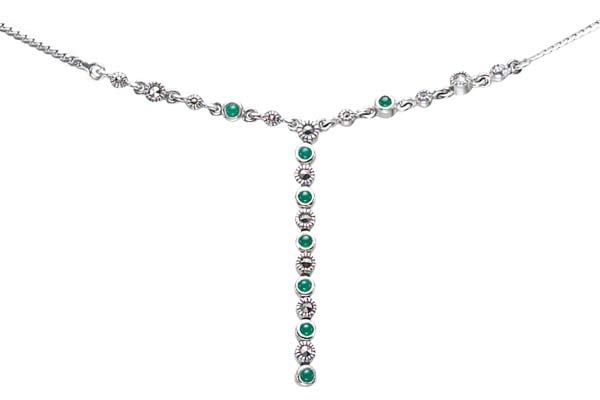 Marcasite necklace NE0415 1