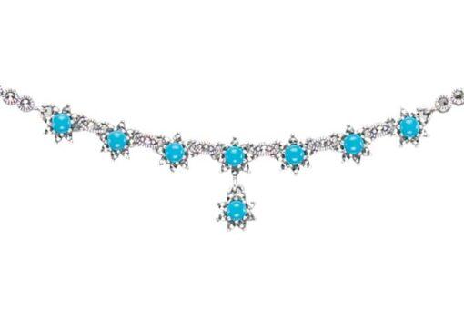 Marcasite necklace NE0417 1