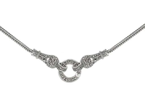 Marcasite necklace NE0447 1