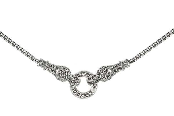 Marcasite necklace NE0447 1