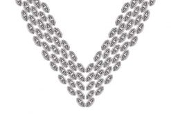 Marcasite necklace NE0448 1