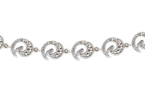 Marcasite necklace NE0449 1