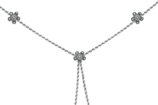 Marcasite necklace NE0458 1