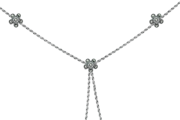 Marcasite necklace NE0458 1
