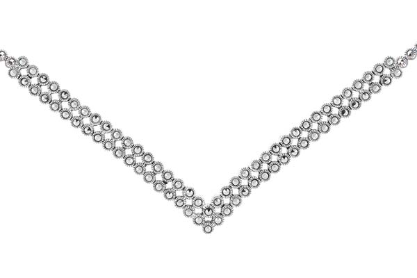 Marcasite necklace NE0462 1