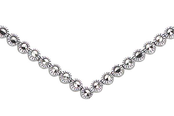 Marcasite necklace NE0463 1