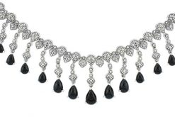 Marcasite necklace NE0467 1