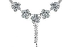Marcasite necklace NE0468 1
