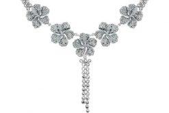 Marcasite necklace NE0468 1