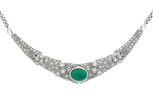 Marcasite necklace NE0472 1