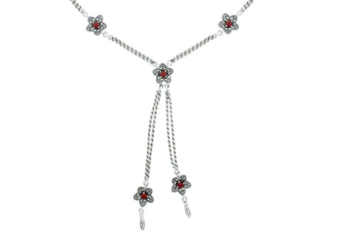 Marcasite necklace NE0477 1
