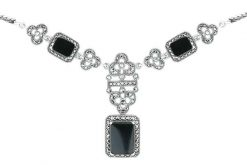 Marcasite necklace NE0483 1