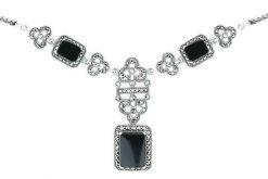 Marcasite necklace NE0483 1