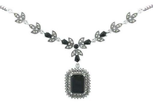Marcasite necklace NE0485 1