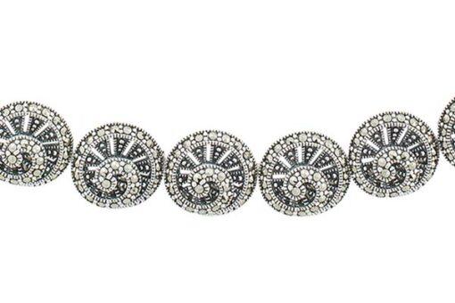 Marcasite necklace NE0490 1