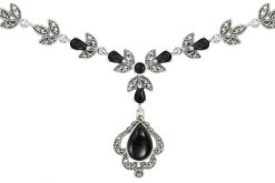Marcasite necklace NE0498 1