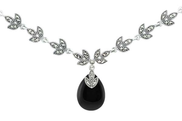 Marcasite necklace NE0501 1