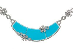 Marcasite necklace NE0503 1