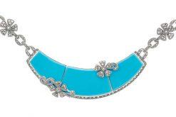 Marcasite necklace NE0503 1